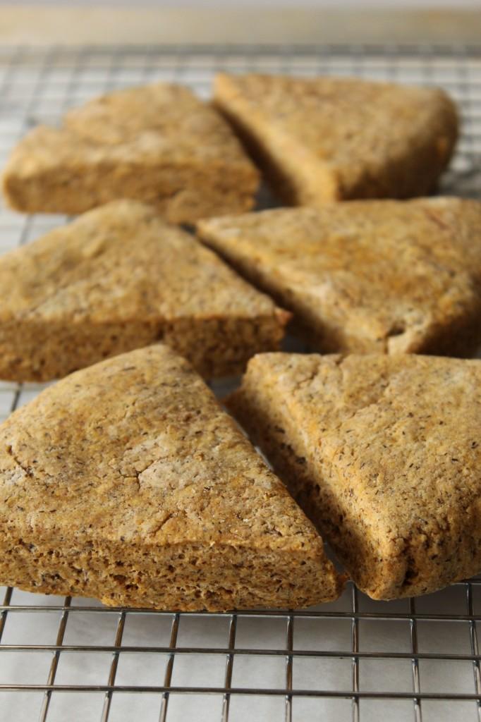 Gluten-Free Spiced Pumpkin Scones