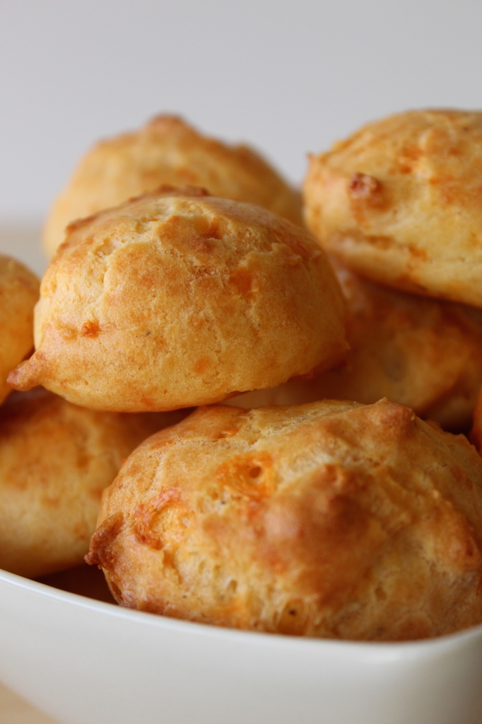 Cheddar Cheese Puffs - Cinnamon and Toast