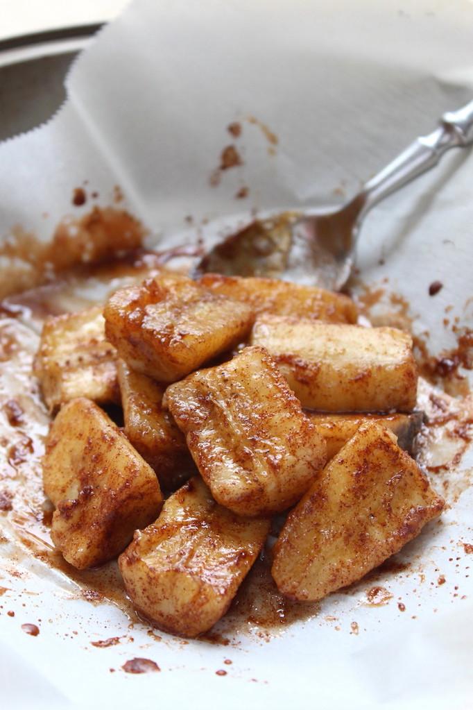 Cinnamon Baked Bananas