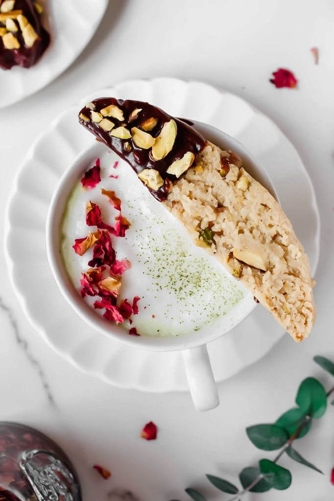Almond Pistachio Biscotti (Gluten-Free)